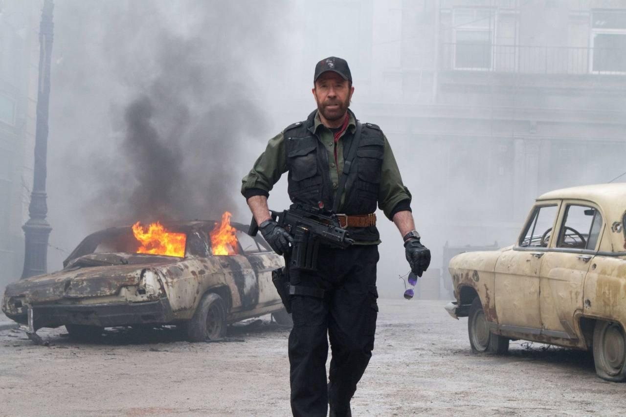 Chuck Norris aclara que no estuvo en el asalto al Capitolio de Washington