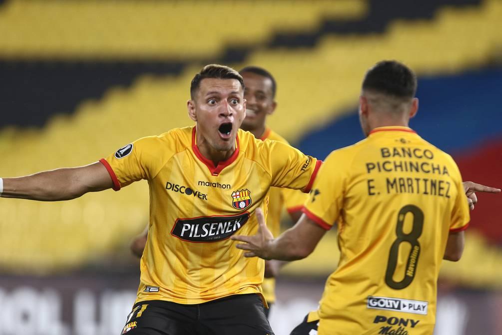 Barcelona SC vence a Boca Juniors en el Monumental y manda en el Grupo C de la Copa Libertadores