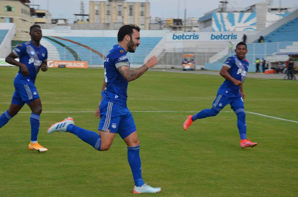 Emelec retoma la punta de la LigaPro tras victoria en campo de Orense