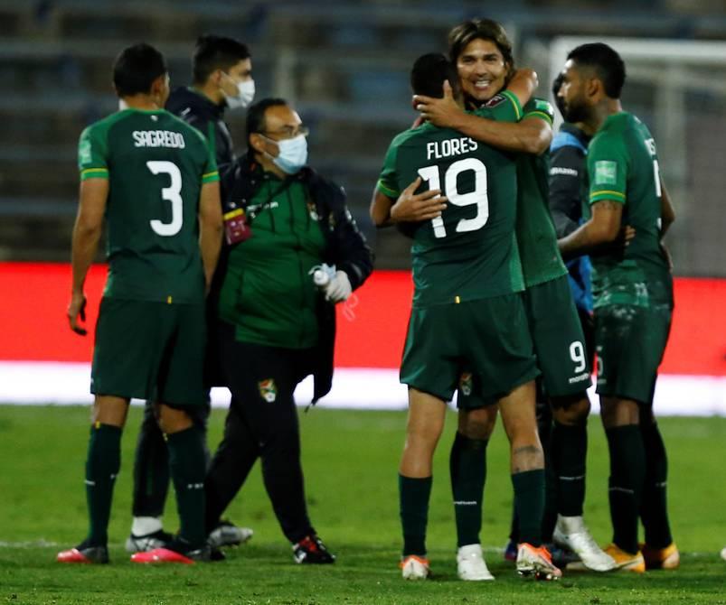 Moreno Martins le da empate a Bolivia en campo de Chile