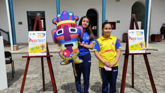 El Aya Huma es la mascota del Panamericano de Tenis de Mesa U11 y U13