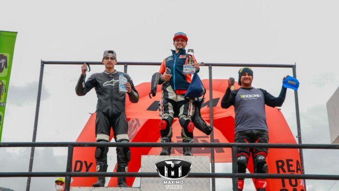 Cuencano Javier Zúñiga es el más rápido en motos Naked