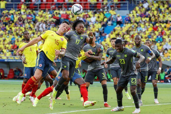 Ecuador empata 0-0 ante Colombia y suma un punto clave en su afán de llegar al Mundial